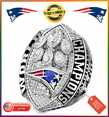 US Super Bowl LIII Ring 2018 2019 OFFICIAL New England Patriots Championship 💎✅