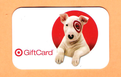 Collectible 2007 Target Gift Card - Target Dog - No Cash Value