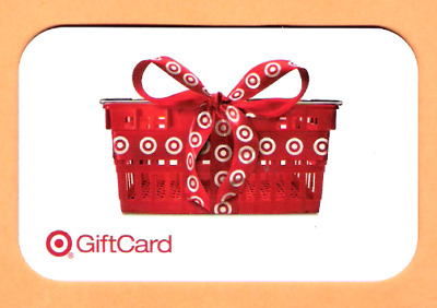 Collectible 2005 Target Gift Card - Target Basket with Bow - No Cash Value