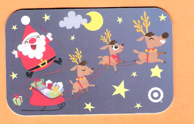 Collectible 2006 Target Gift Card - Santa and Reindeer - No Cash Value