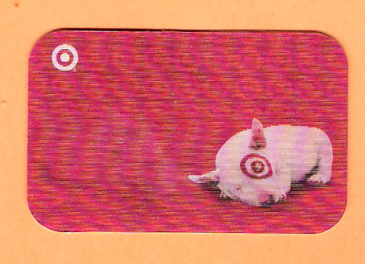Collectible 2006 Lenticular Target Gift Card - Dog Rolls Over - No Cash Value