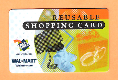 Collectible Older Walmart Gift Card - No Cash Value