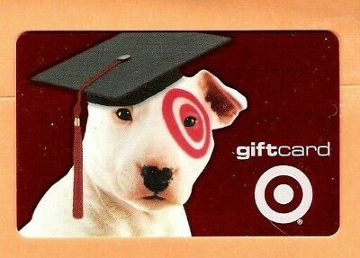 Collectible 2001 Target Gift Card - Dog in Graduation Hat - No Cash Value