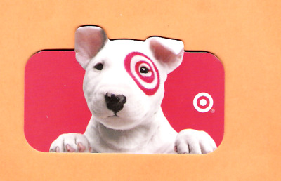 Collectible 2004 Die Cut Target Gift Card - Target Puppy - No Cash Value