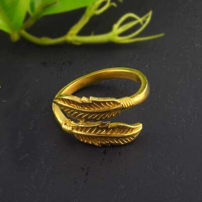 Ethiopian Wollo Brass Rings Gold jewelry Design Minimal Ring Available Quantity