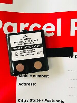 New Replacement Battery For UNIDEN BP38 BP40 UHF Handheld Radio