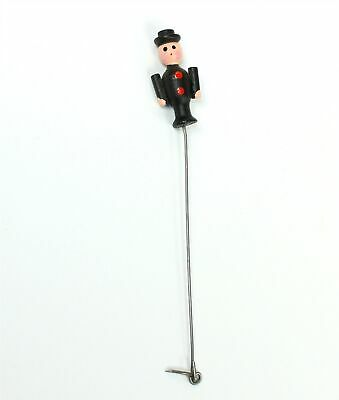Musical Cuckoo Clock Chimney Sweep Figure - German Vintage - Zz370