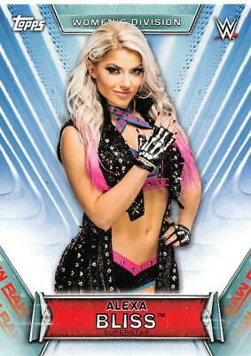 2019 Topps WWE Women's Division Base 1st NXT and Rookie Cards Pick From List