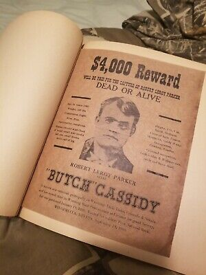 Original butch cassidy and the sundance kid wanted poster