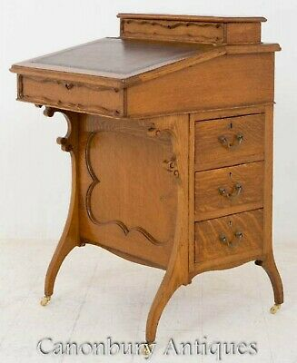 Arts and Craft Davenport Walnut Desk