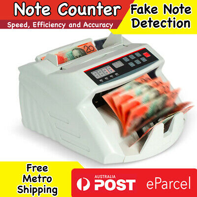 Australian Note Counter Cash Money Machine Automatic Banknote Counting Digital