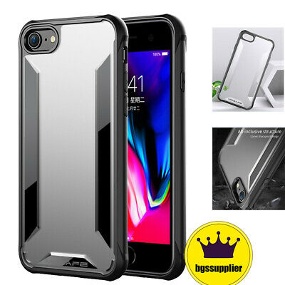 Hybrid Shockproof Thin Clear Case For iPhone X 7 8 Plus XR XS MAX 11/ 11 Pro Max