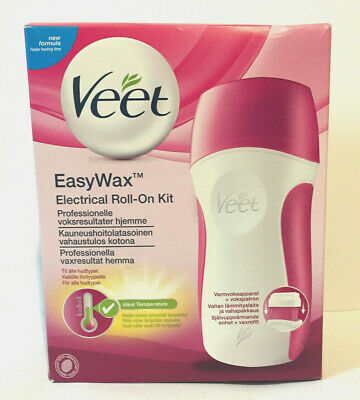 Veet Easywax Electrical Roll-On Starter Kit For Arms & Legs Hairs New Formula
