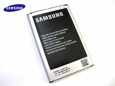 Original Samsung B800BE B800BU B800BK Battery Batteria Battery Galaxy Note 3