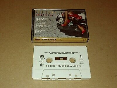 The Cars Greatest Hits Cassette With Let's Go Just What I Need Touch And Go