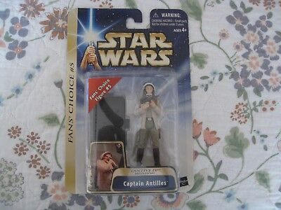 New Star Wars Anh Fan's Choice #5 Tantive Iv Invasion Cpt Antilles Carded Figure