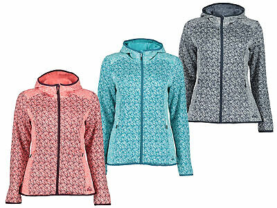McKinley Rock Ledges wms Fleecejacke Strickfleece Damen