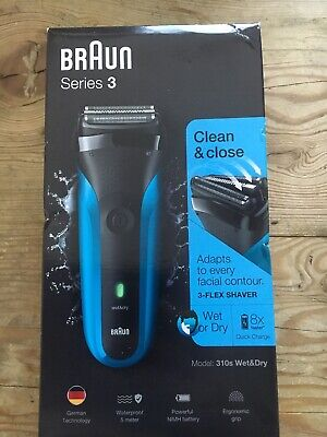 Braun Series 3 310s Wet and Dry Electric Shaver for Men/Rechargeable Electric Ra