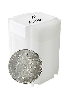 Pre 1921 Silver Morgan Dollar AU Lot of 10 S$1 Coins *Credit Card Payment Only