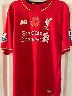 Lfc Shirt Medium Liverpool FC Poppy shirt