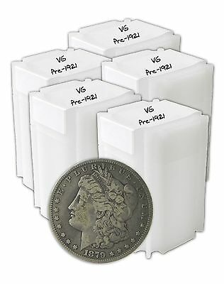Pre 1921 Silver Morgan Dollar VG+ Lot of 100 S$1 Coins *Credit Card Payment Only