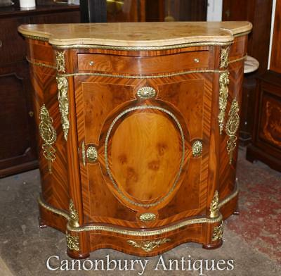 French Cabinet Empire Kingwood Credenza Ormolu Fixtures