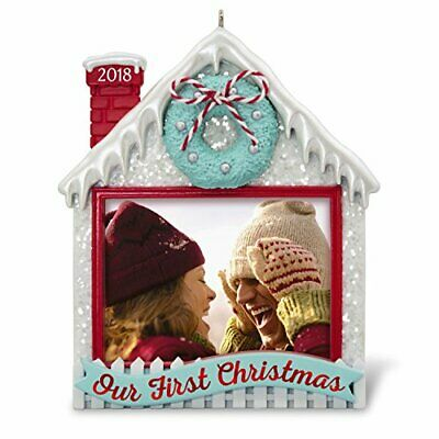 Hallmark Keepsake Christmas Ornament 2018, Our First Christmas Together - Frame