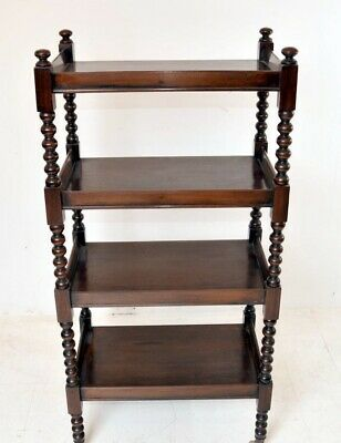 Regency Mahogany Bookcase Shelf Unit