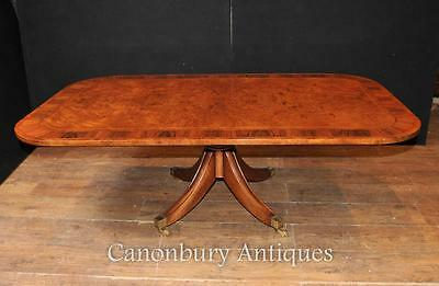 Antique Regency Coffee Table Burr Walnut