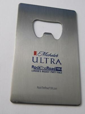 Michelob Ultra Vintage  Beer Bottle Opener Rock The Road London Party Race
