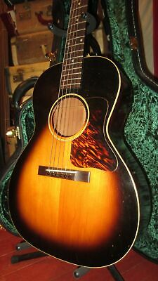 1939 Gibson L-00 Small Body Sunburst Vintage Acoustic Guitar With Hardshell Case