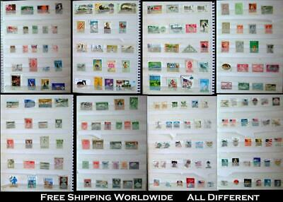 Stamp Collection From Russia Africa Greece British Colonies & United States
