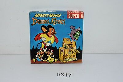 Super 8mm Film #302 Mighty Mouse In Hansel And Gretel Black & White Ken Films