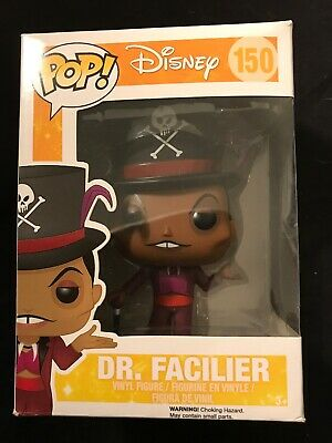 Funko Pop Dr. Facilier #150 Vaulted Disney Princess and the Frog Not Mint