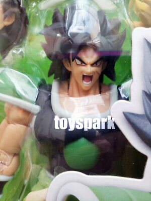 IN HAND BANDAI S.H. Figuarts Dragonball Z Movie SUPER BROLY saiyan action figure