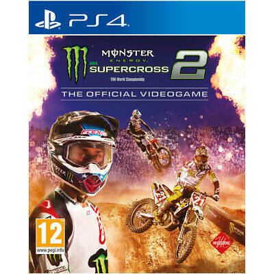 Ps4 Monster Energy Supercross 2