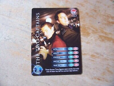 Torchwood Trading Card 023 The Two Captains