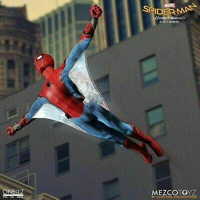 Mezco One:12 Collective Spider-Man Homecoming Action Figure NEW