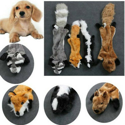 Funny Soft Pet Puppy Chew Play Squeaker Squeaky Cute Plush Sound For Dog Toy FG