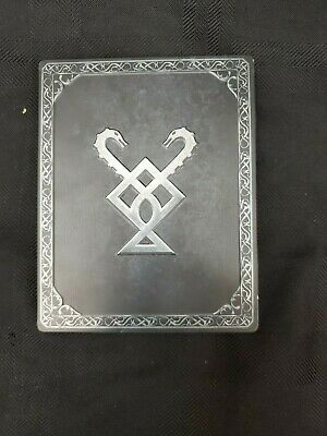 God Of War PS4 Stone Mason Collector's Steelbook Playstation 4 Videogame