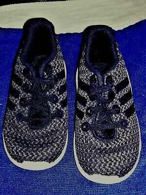 Adidas Boys Girls Racer Trail Runners Toddler Tennis Shoes DB1870 Size US 4K