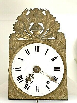 Louis 14th, The Sun King French Comtois  Wall Clock with Verge Escapement