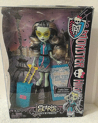 Monster High Scaris City of Frights NEW Unopened Box Doll & Accessories