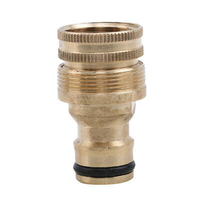 Brass Faucet Washing Hose Fittings Connector Adapter Cleaning Tap Tool W