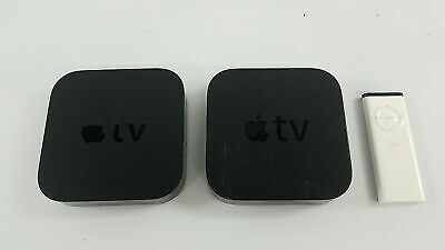 2 Apple TV 3rd Generation A1469 With 1 Remote - LOT