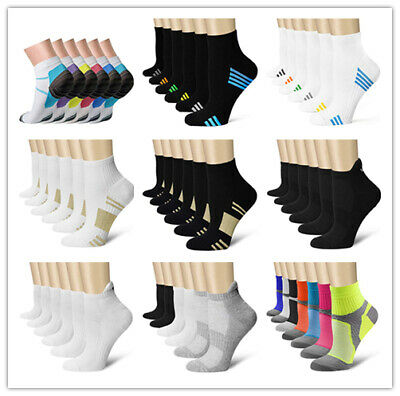 CHARMKING, Compression Socks (3/6/7 Pairs),15-20 mmHg is Best Athletic & Medical