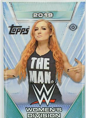 2019 Topps WWE Women's Division Gold Base Parallel Cards Pick From List /10