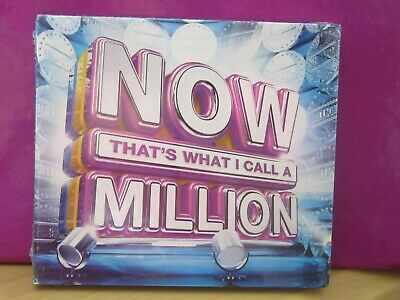 NOW THAT'S WHAT I CALL A MILLION: 3CD ALBUM SET (Various Artists) BRAND NEW