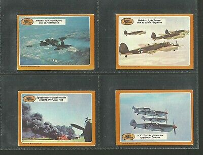 A B & C Gum Cards 1970 Battle Of Britain    7/66