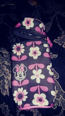 Disney MINNIE MOUSE PortableTravel  Insulated Milk Baby Bottle Pouch Bag